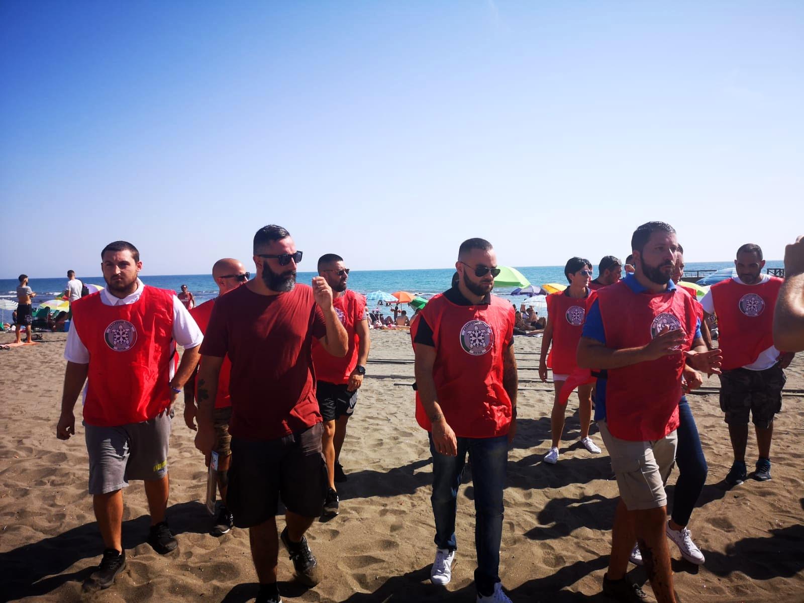 Ronde CasaPound spiagge Ostia 2-2