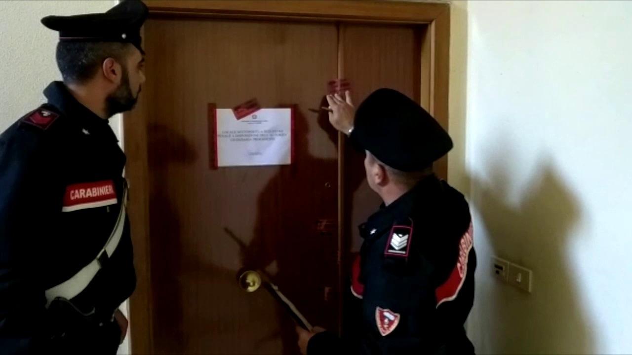 I Carabinieri sul luogo dell'omicidio-2