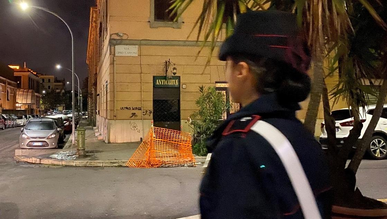 I Carabinieri durante le operazioni di questa mattina (1)-2