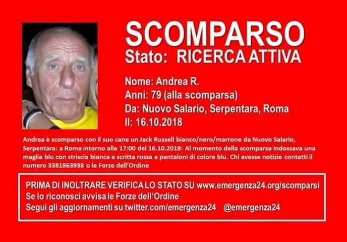 Andrea Ricci Scomparso Serpentara-2