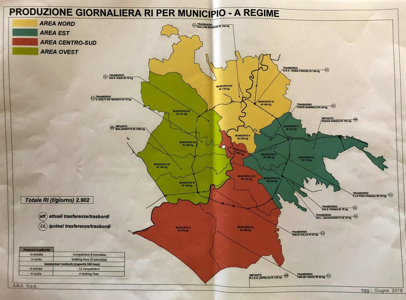 Mappa areeTrasbordo Roma-2