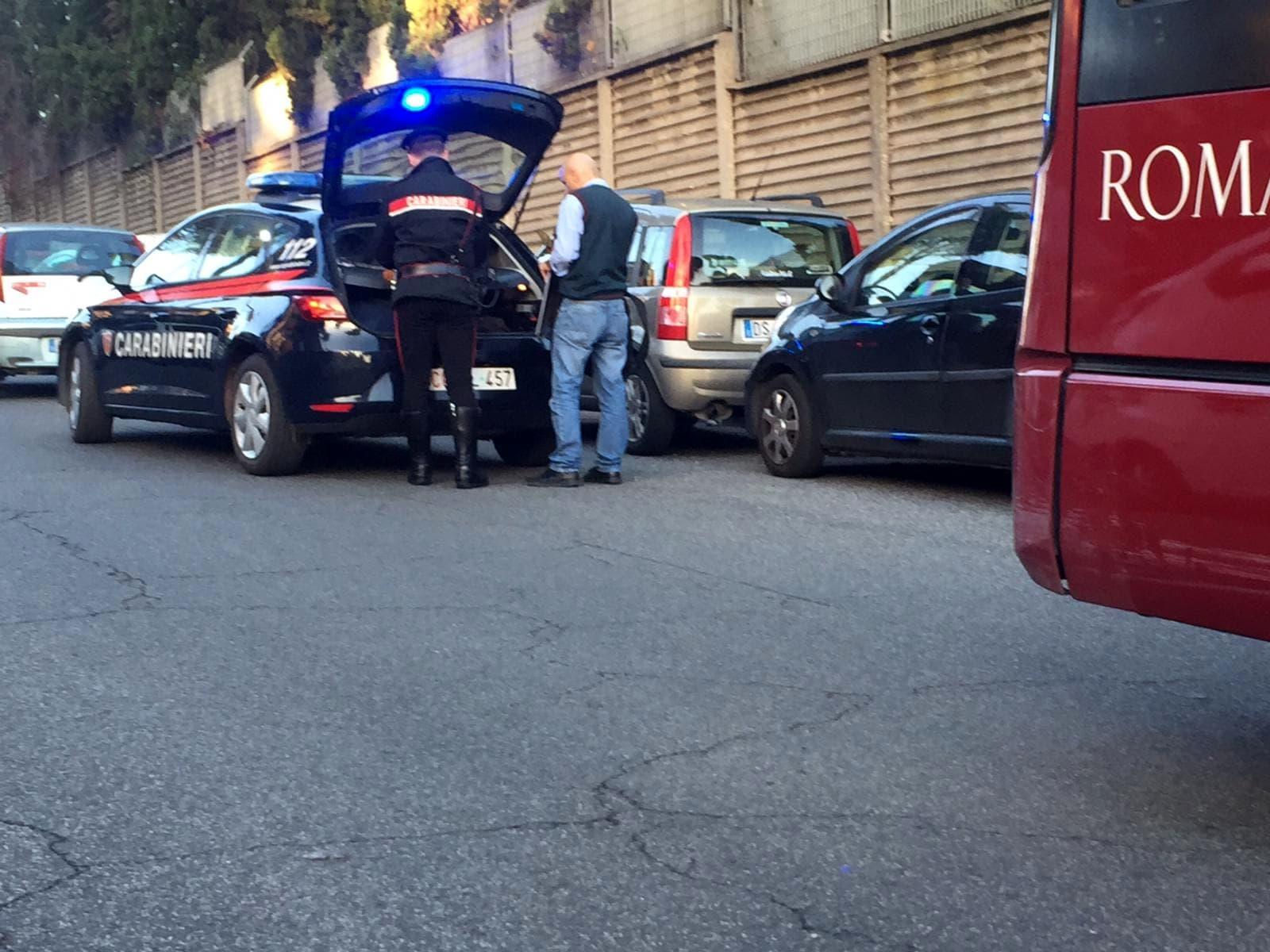 Minacce bus 60 via Ettore Romagnoli 2-2
