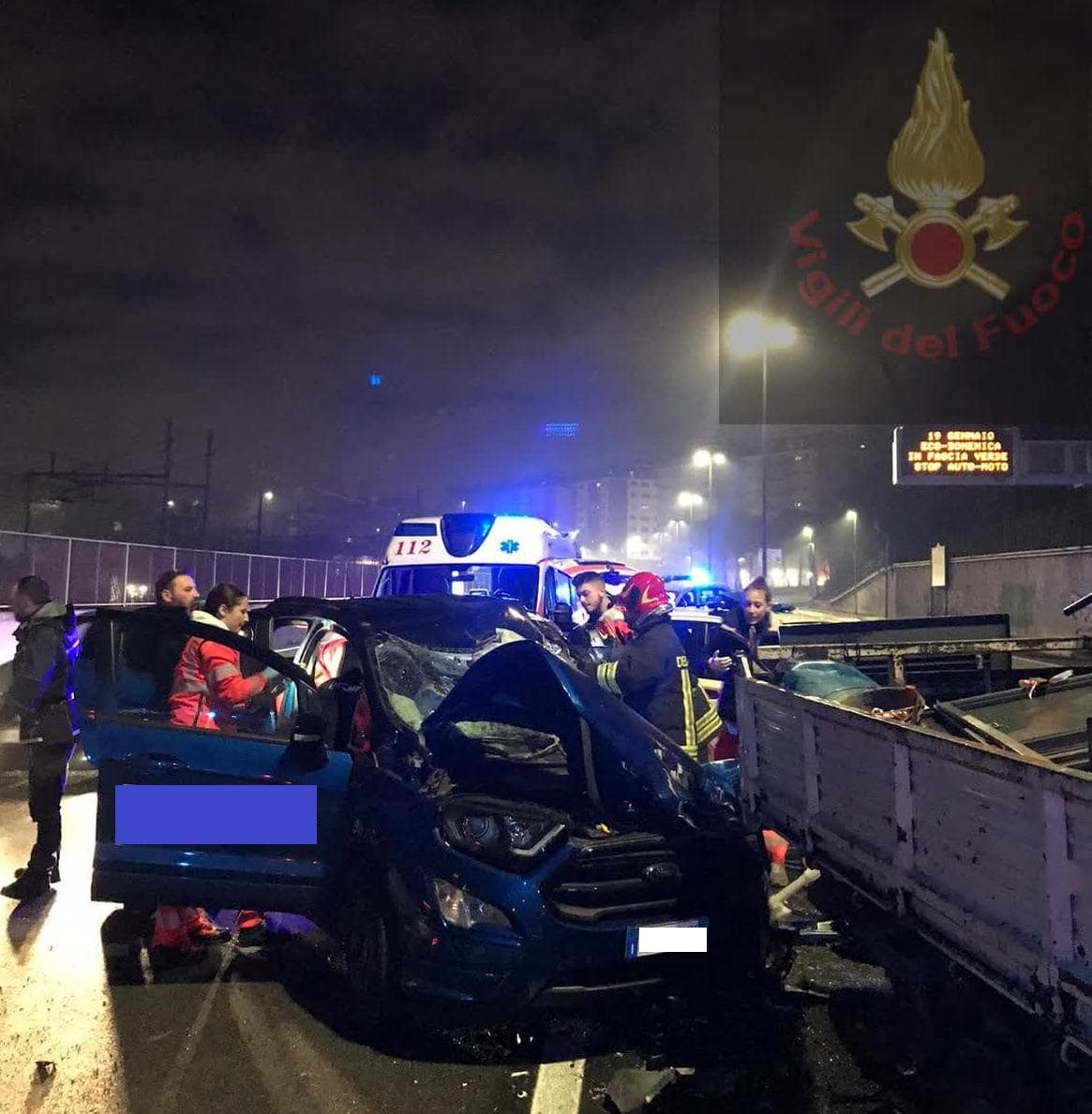 Incidente tangenziale est 18.01.2020 2-2
