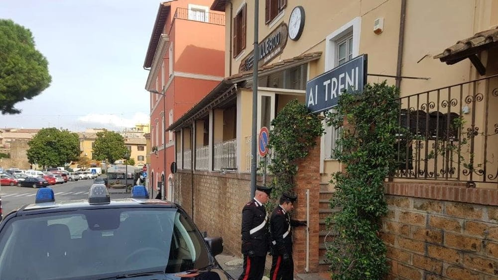 Piromane ristorante Cerveteri 1-2