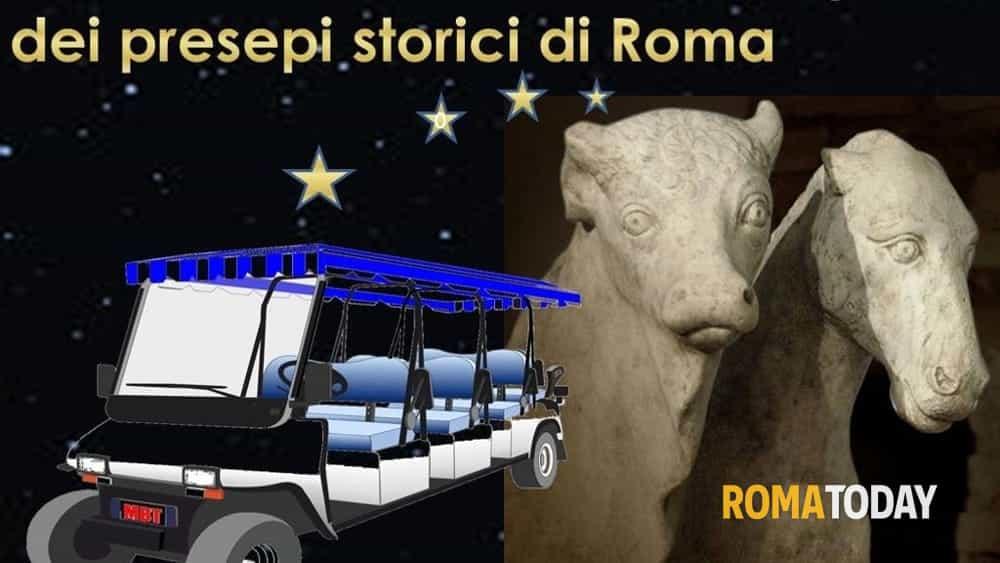 22 dicembre h.10.00-12.00 tour in cart elettrico alla scoperta dei presepi storici di roma-2