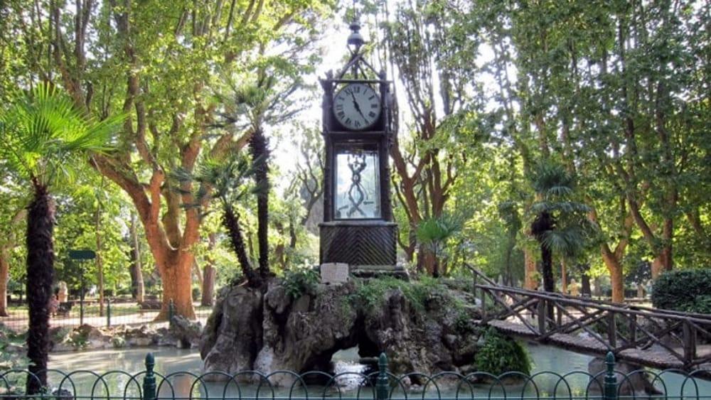 Orologio ad acqua del Pincio-2