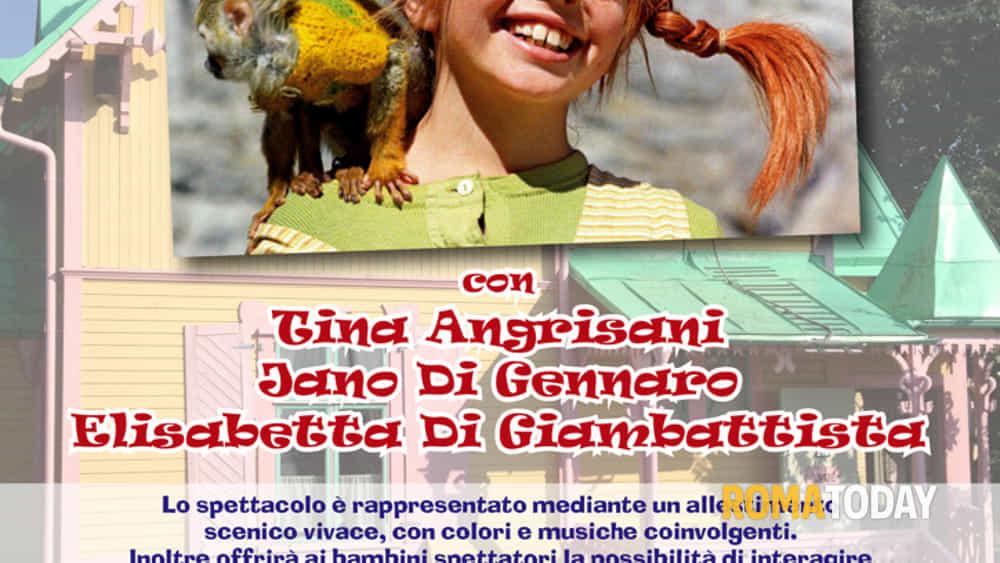 """spettacolo teatrale per bambini """"pippi calzelunghe"""" a roma teatri-2"""