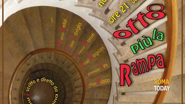 """""""Otto più la rampa"""" di E. Faina al Teatro Arvalia"""