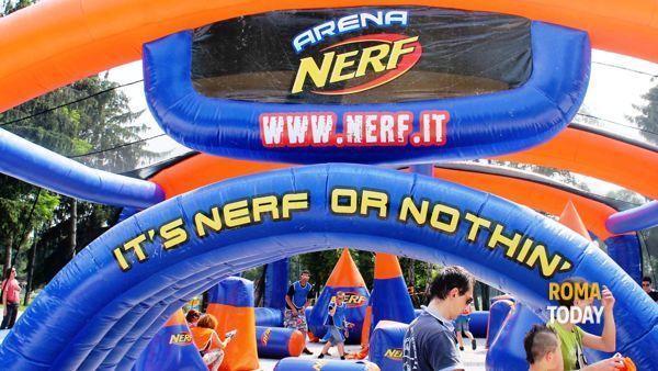 La Nerf Cup fa tappa a Roma: al Foro Italico i blaster più famosi al mondo