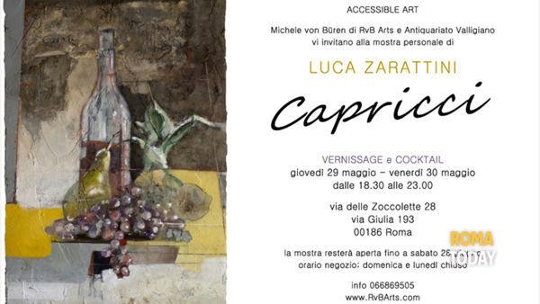 """""""Capricci"""": RvB Arts presenta la mostra personale di Luca Zarattini"""
