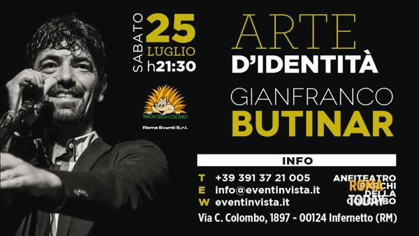 """Gianfranco Butinar è """"Arte d'Identità"""" ai Parchi della Colombo"""