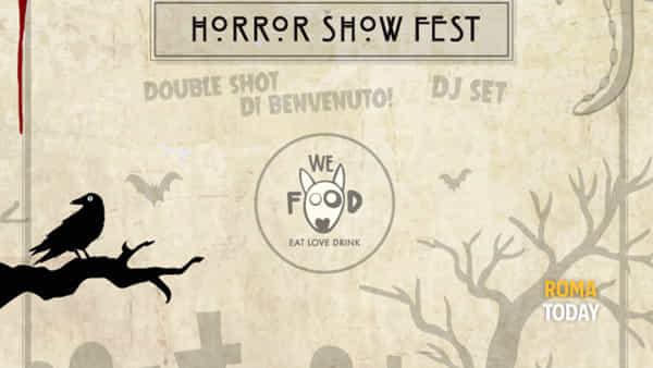We Food Horror Show Fest: Halloween non è mai stato così gustoso!