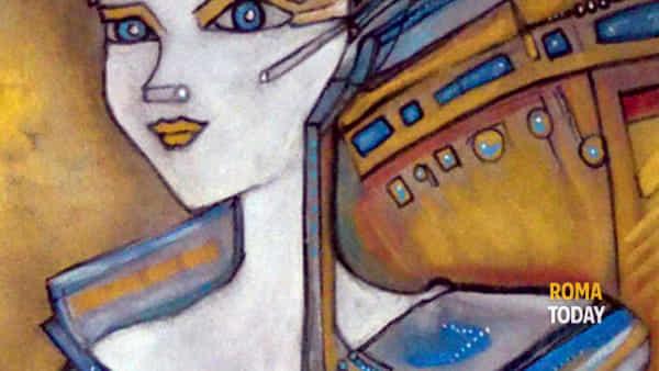 L'Imperatrice by Gaia Macchina a Spazio40 Galleria d'arte