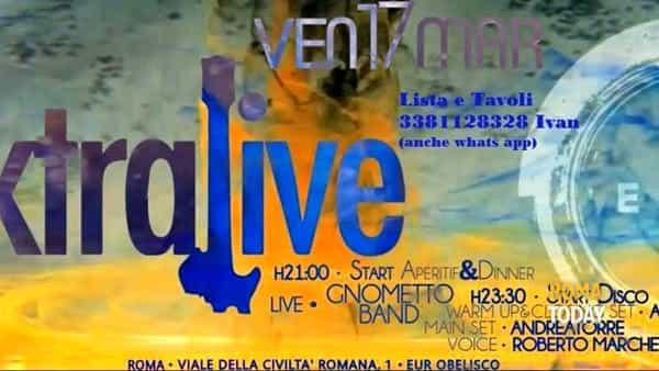Apericena live e discoteca revival all'Exe