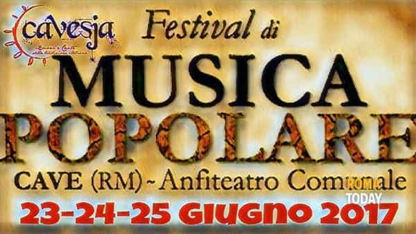 Festival di Musica Popolare 2° edizione - CAVESJA -
