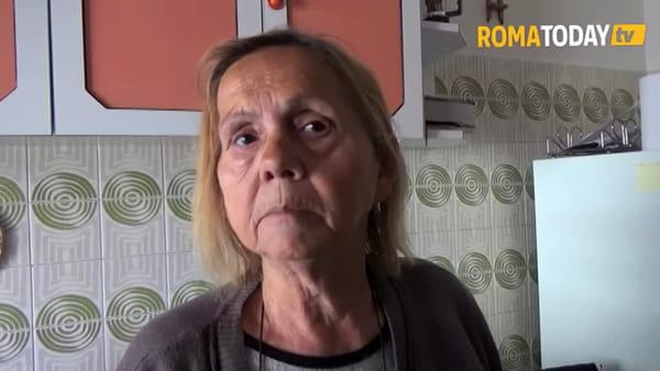 VIDEO | Casal Bruciato sta con Maria Pia, anziana sotto sfratto da un alloggio popolare
