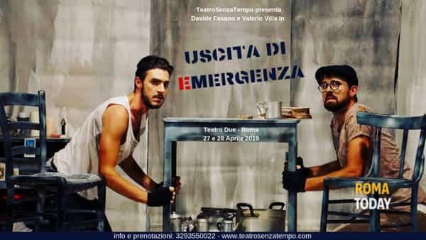 Uscita di Emergenza al Teatro Due