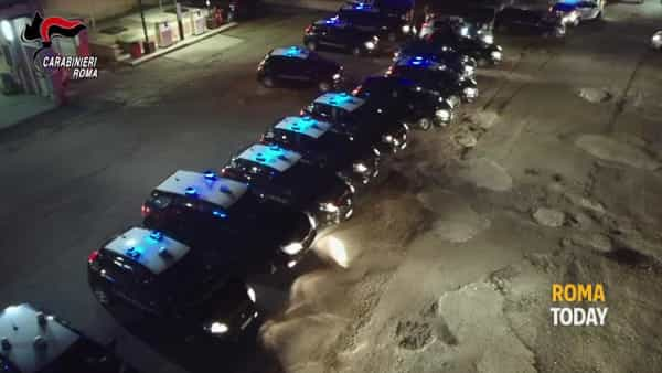 VIDEO | Operazione New Line, 16 arresti per traffico di droga. Le immagini del blitz
