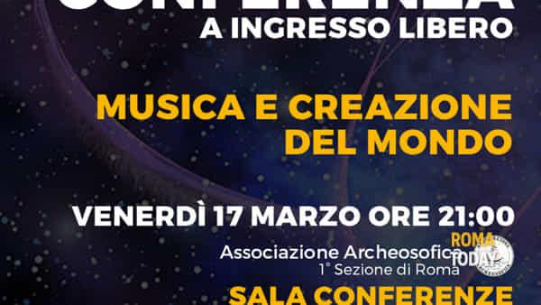 Musica e creazione del mondo - Conferenza ad ingresso libero