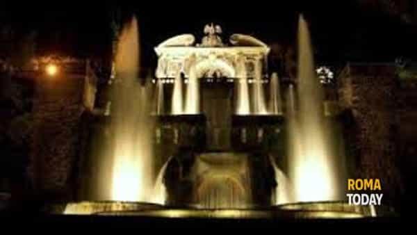 Notte a Villa d'Este