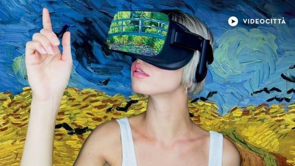 Van Gogh e Monet Experience, la mostra virtuale