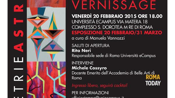 Geometrie Astraenti: arte contemporanea in mostra a Roma