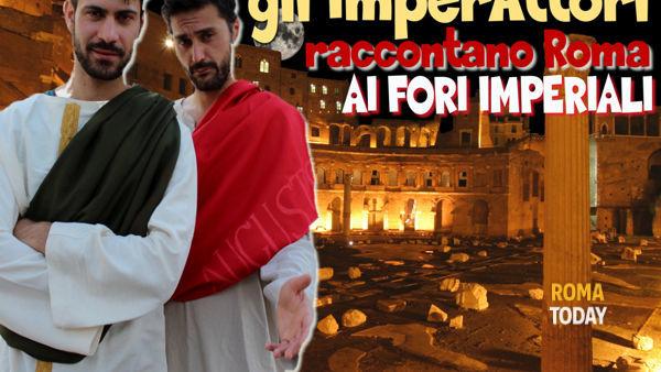 Gli imperAttori raccontano Roma ai Fori Imperiali - visita guidata con attori per famiglie