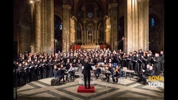 Rome Choral Festival: 100 coristi a S.Maria Sopra Minerva