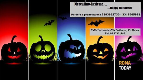 Mercatino-Insieme.. Halloween..