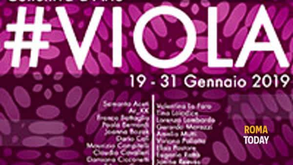 #VIOLA – Collettiva d'arte a Spazio 40 Galleria d'arte
