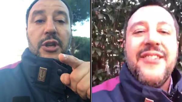 """Spari a Magliana, Salvini replica a Raggi e al M5s: """"Ecco i miei fatti. La sindaca faccia il suo mestiere"""""""