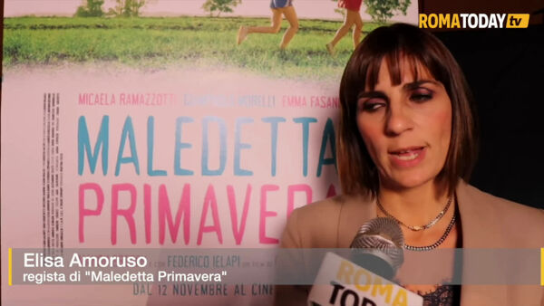 "VIDEO | ""Maledetta primavera"" arriva sul red carpet della Festa del Cinema di Roma"