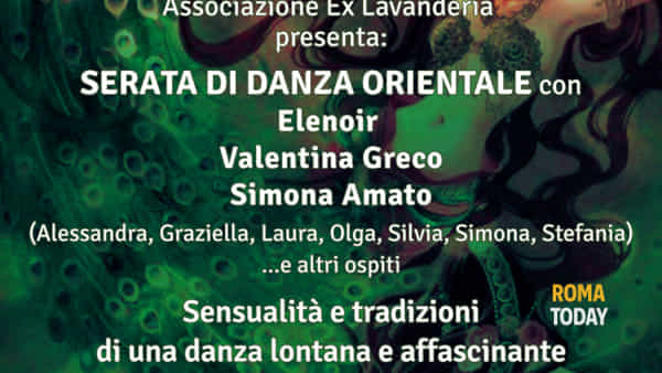 Oriental Night all'ex lavanderia