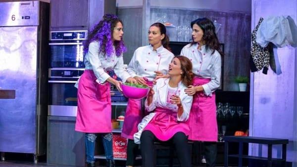 Belle ripiene al Teatro Sistina, una gustosa commedia dimagrante