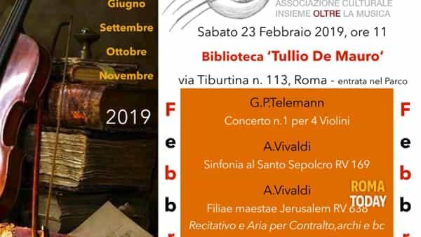 """Roma Youth String Orchestra alla biblioteca """"Tullio De Mauro"""""""