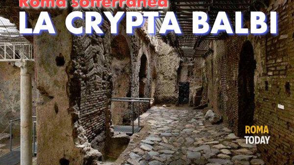Il complesso sotterraneo della Crypta Balbi - visita guidata con archeologo