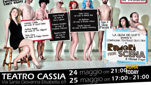 Rumori Fuori Scena torna al Teatro Cassia