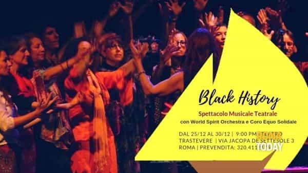 Mario Donatone & World Spirit Orchestra presentano Black History al Teatro Trastevere