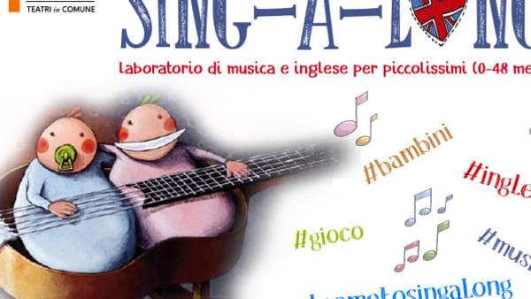 SING-A-LONG live: laboratorio di musica e inglese per bambini