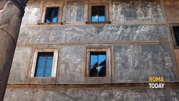 Roma rinascimentale: storia delle facciate dipinte tra i rioni Ponte e Parione