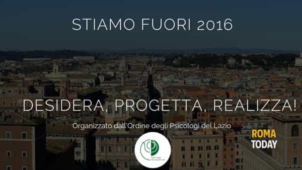 """""""Stiamo Fuori 2016"""": torna il Festival della Psicologia"""