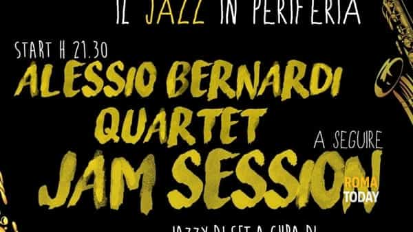 Quadraro in Jazz Vol.2: Alessio Bernardi Quartet & Jam Session