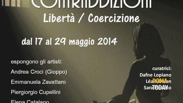 Vernissage l'Arte delle Contraddizioni: Libertà/Coercizione