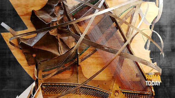 Piano di curve sonore, opera collettiva di Stefa, Federico Capitoni, Edoardo Bellucci