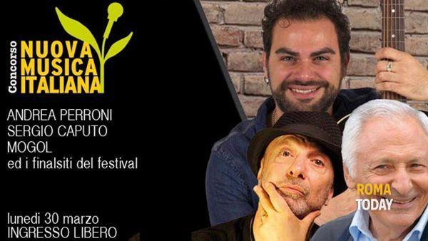 Finale festival Nuova Musica Italiana con Sergio Caputo, Andrea Perroni, Mogol