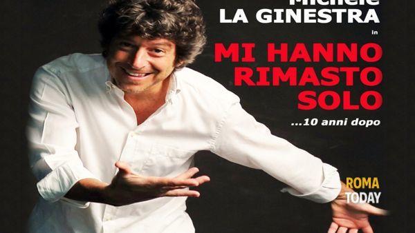 Michele La Ginestra al Teatro Ramarini di Monterotondo