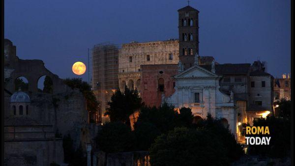 """""""La luna sul Foro Romano"""", visita guidata 31 agosto 2014"""