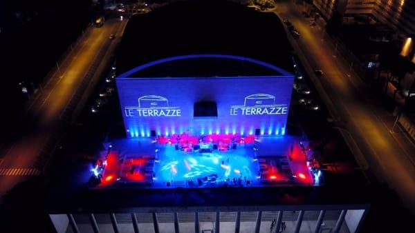 Le Terrazze, torna l'estate al Palazzo dei Congressi