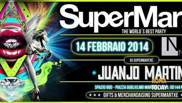 14 febbraio supermartxe' party allo spazio novecento