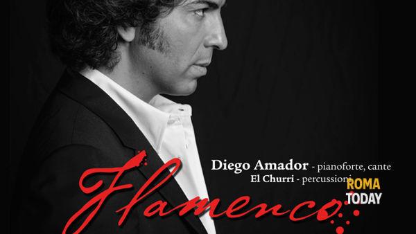 """""""Il Fuoco Del Flamenco"""": a Roma arriva Diego Amador"""